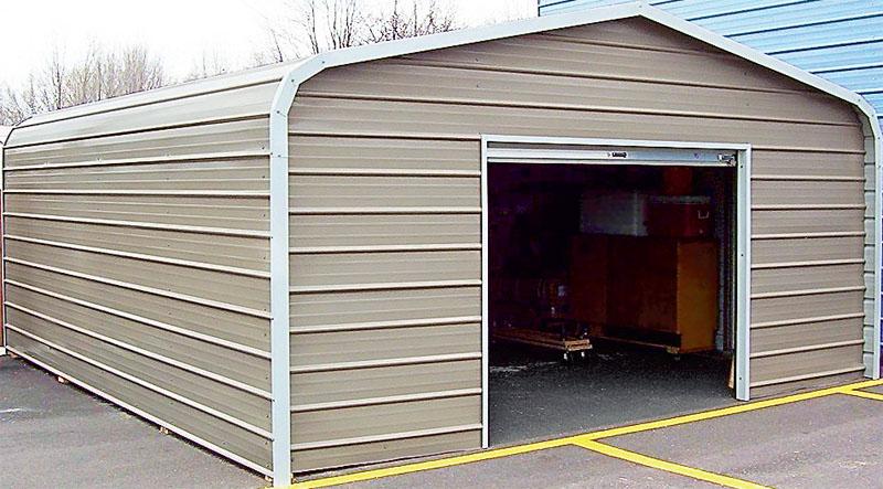 Двойной гараж своими руками 57